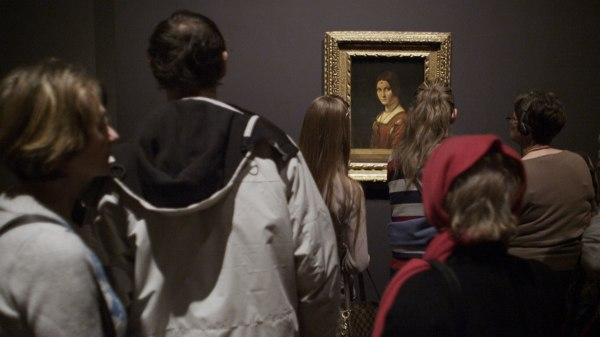 Leonardo da Vinci's Belle Ferronierre at the National Gallery